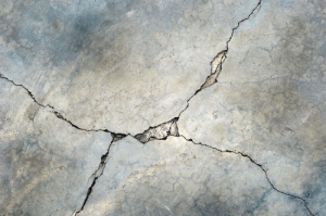 Cracked Concrete Flooring