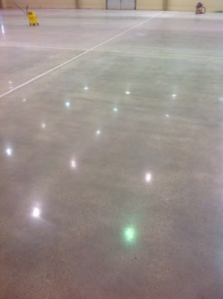 Polished Concrete - Christensen Field Floor