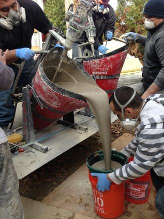 Concrete Hippo Mixing
