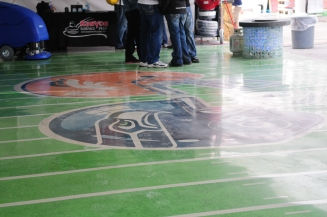 WOC 2014 - finished floor