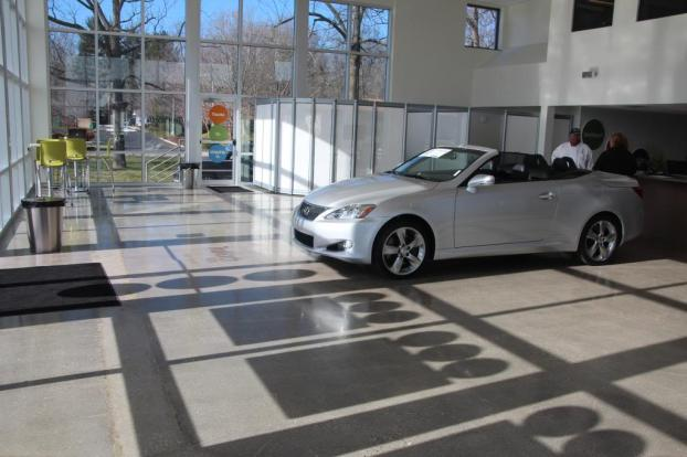 Car Dealership's Concrete Floors