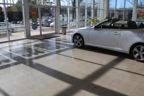 Car Dealership Polished Concrete
