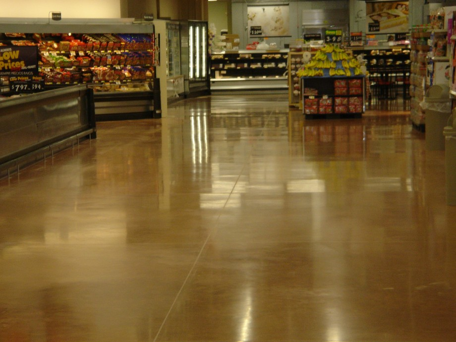 Sam's Club Polished Store - Exposed