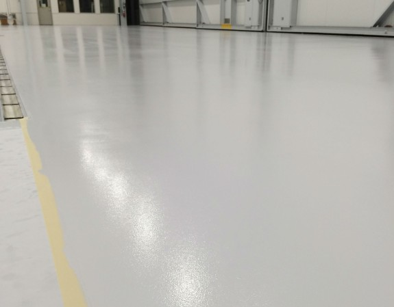 Hangar Polished Concrete Floors