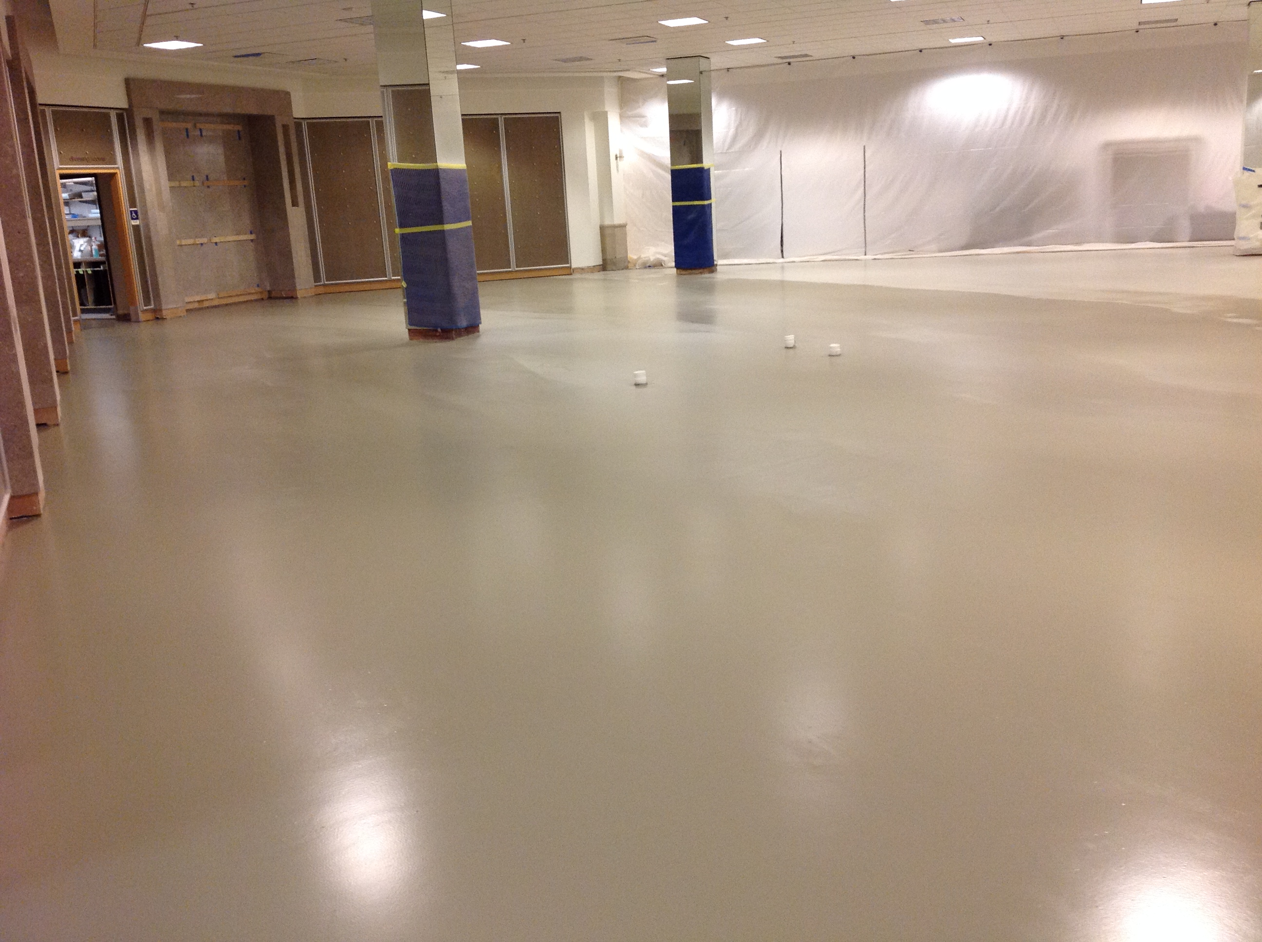 Applied Flooring S Polished And Colored Concrete Success