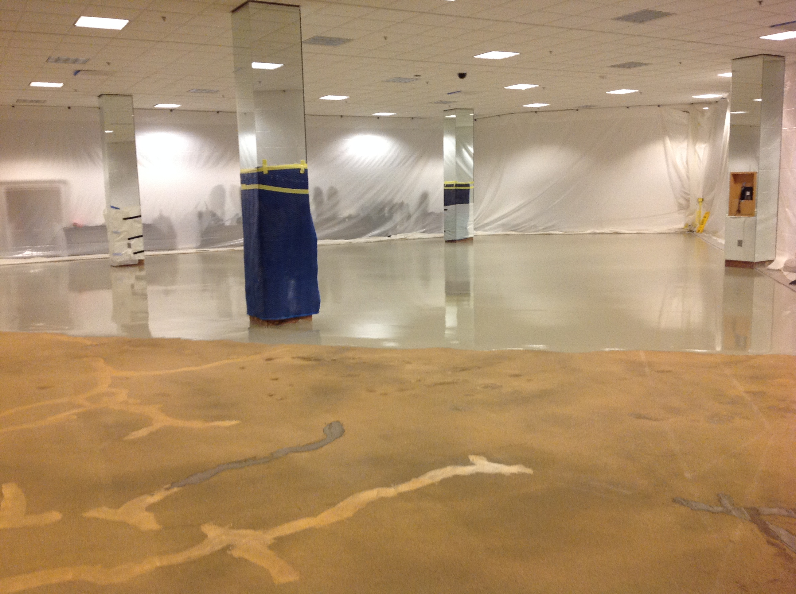 Self Leveling Concrete Color : Applied flooring s polished and colored concrete success