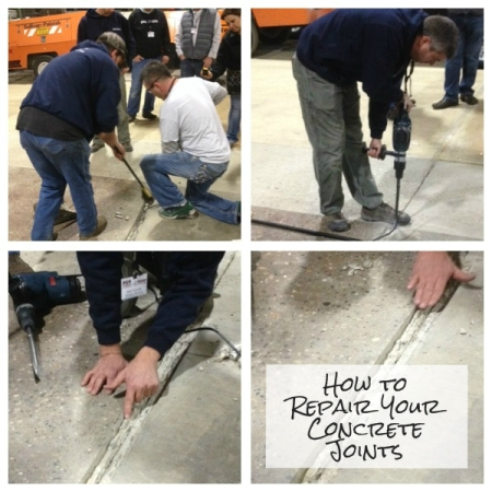 How to Repair Your Concrete Joints