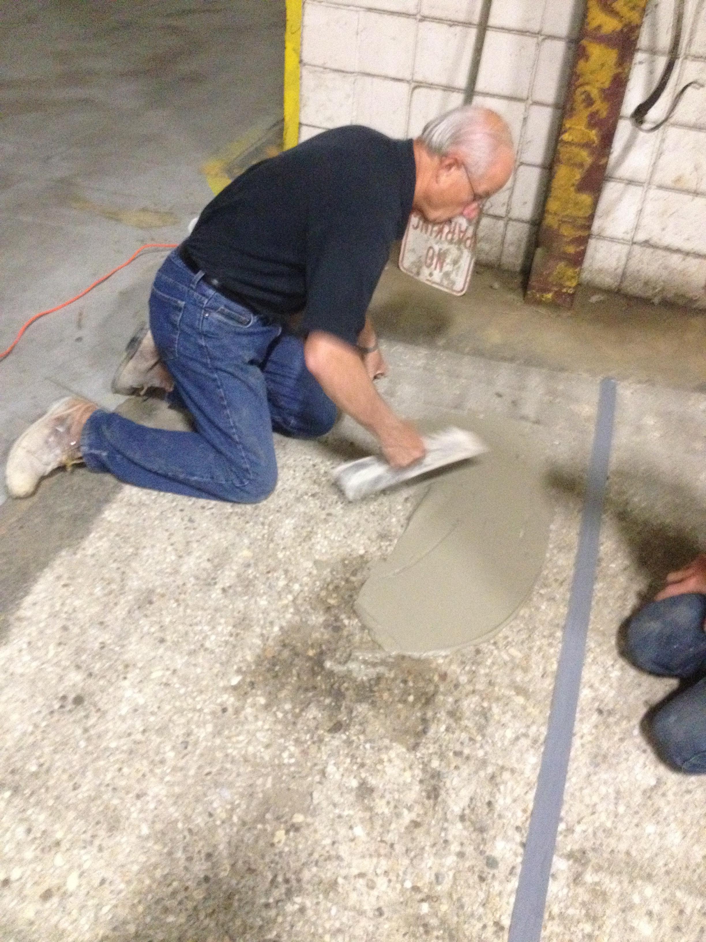 Cts Rapid Set 174 Demo Cr Concrete Resurfacer Amp Skim Coat