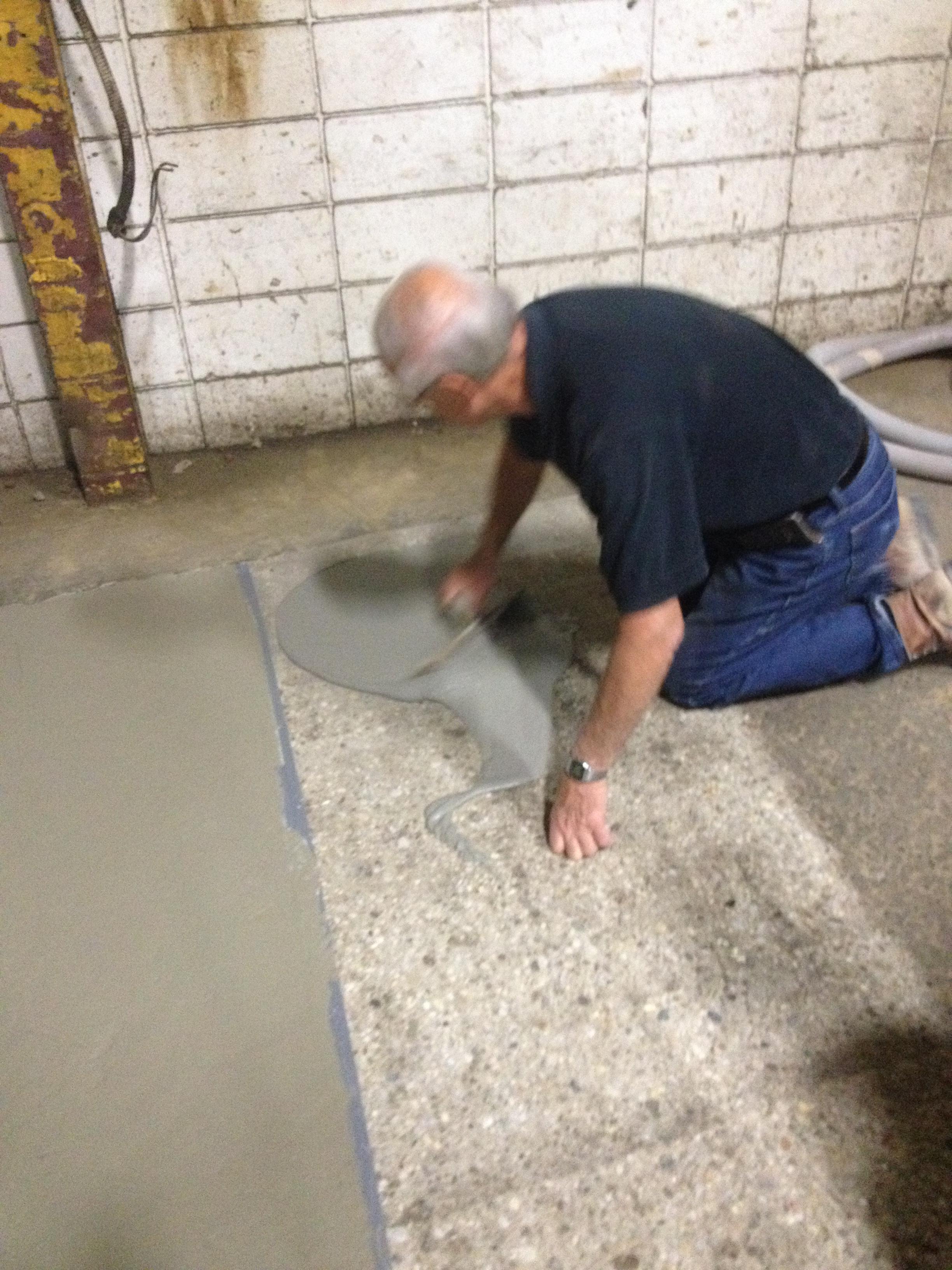 Cts Rapid Set Demo Cr Concrete Resurfacer Skim Coat Runyon