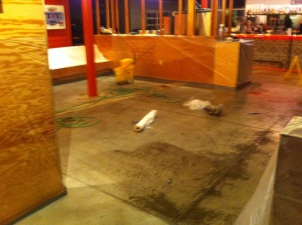 Torchy's Taco Shop Floor - before