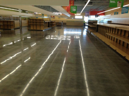 Polished Concrete Floor Maintenance