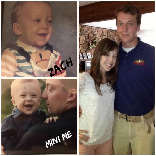 Zach Allen's family